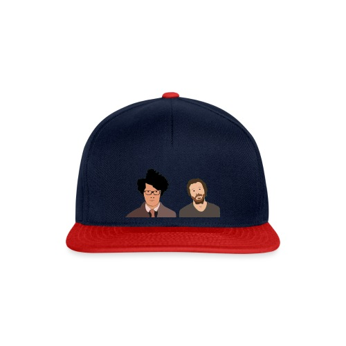 The IT Crowd T-Shirt Moss and Roy - Snapback Cap