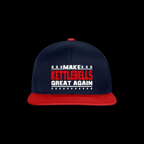 make bells great again WHITE RED - Snapback Cap