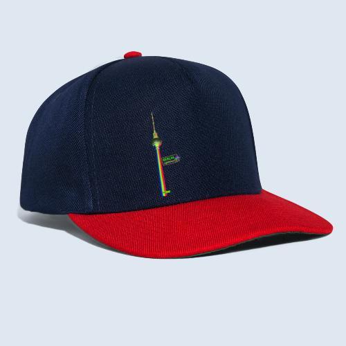 """Berliner Original """"Fernsehturm"""" PopArt Design - Snapback Cap"""