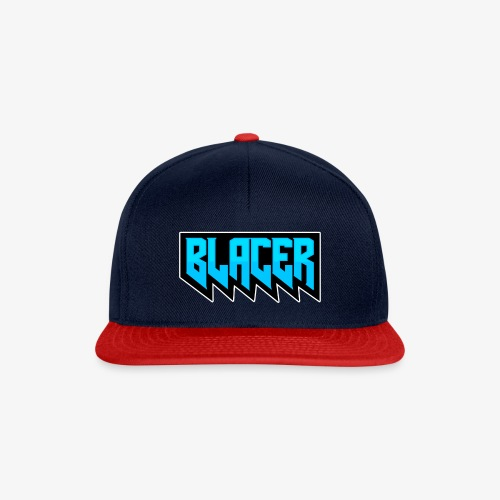 Official logo of Blacer eSport organization - Snapback Cap