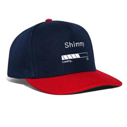 Shimmy Loading ... White - Snapback Cap