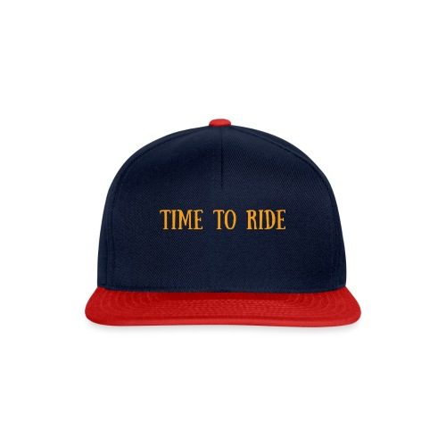 TIME TO RIDE - Casquette snapback