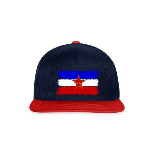 Jugoslawien Flagge - Snapback Cap
