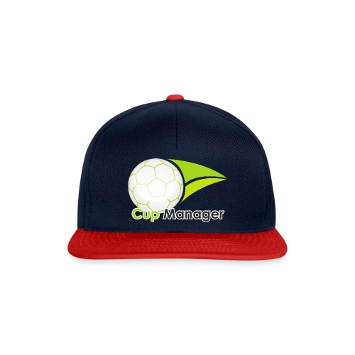 Cup Manager Vertikal Logo - Snapbackkeps