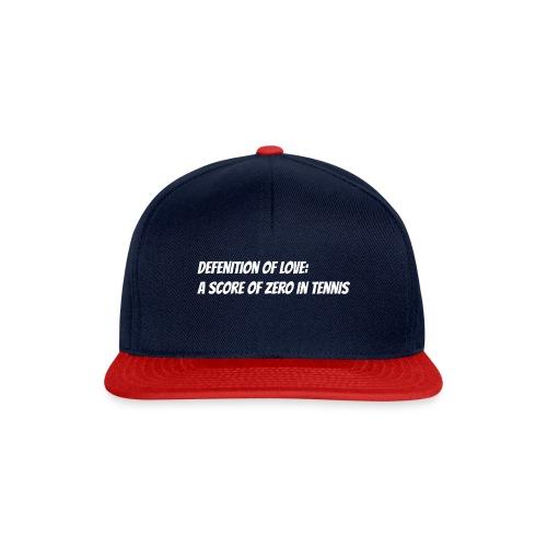 Tennis Love sweater woman - Snapback cap