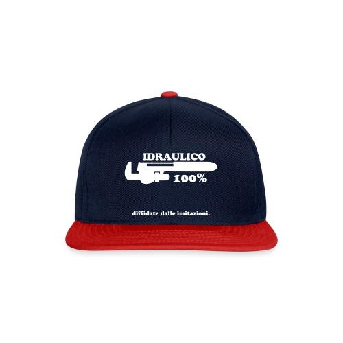 Idraulico 100% - Snapback Cap