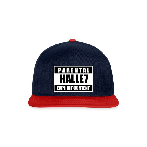 Halle7 Content - Snapback Cap