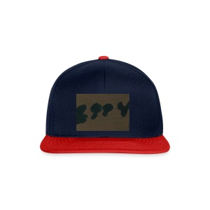 Etty Blue writing merch - Snapback Cap