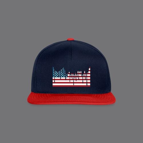 USA FLAG Tee Shirts - Snapback Cap