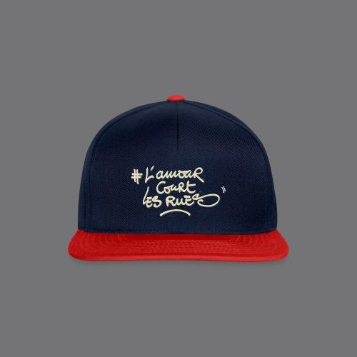 L'AMOUR COURT LES RUES Tee Shirts - Snapback Cap