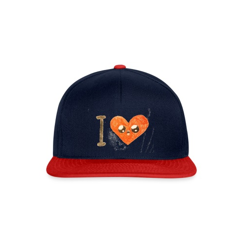 Kids for Kids: heart - Snapback Cap