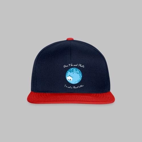 Sad Pluto - Snapback Cap