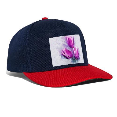 stevanka flowers tulpen - Snapback Cap