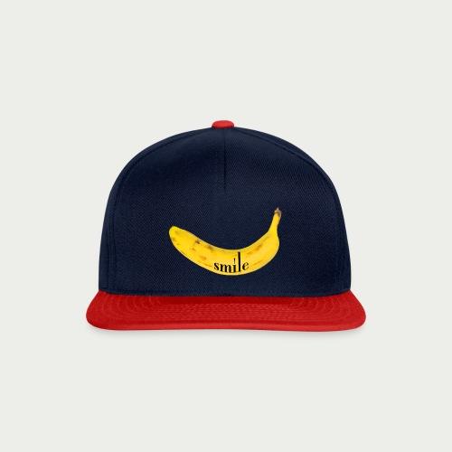 Bananen Smile - Snapback Cap