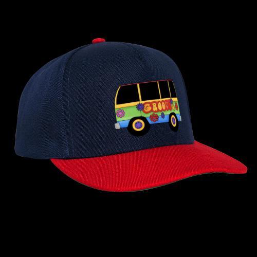 GROOVY BUS - Snapback Cap
