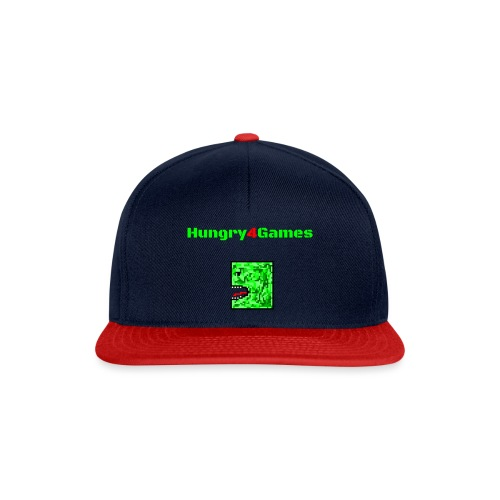 A mosquito hungry4games - Snapback Cap