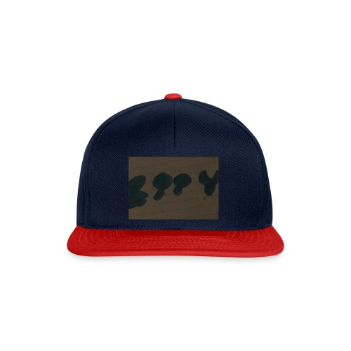 Etty Blue writing merch - Snapback Cap
