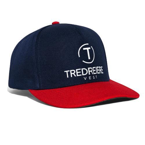 Hvit logo - Snapback-caps