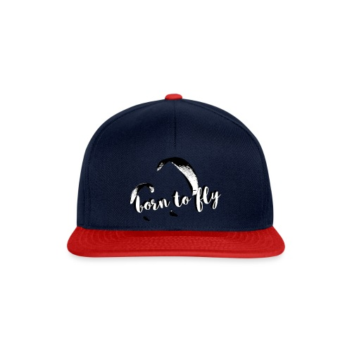 born to fly - Snapback Cap