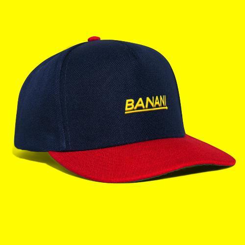 Banani-Schriftzug V2 - Snapback Cap