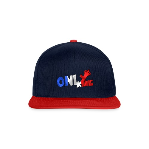 Logo ONLY KING edition francaise - Casquette snapback
