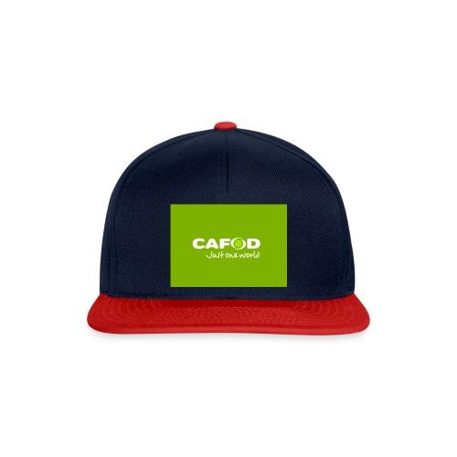 CAFOD Logo greenback - Snapback Cap