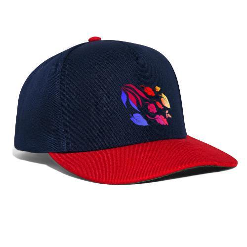Natur Blätter Regenbogen - Snapback Cap