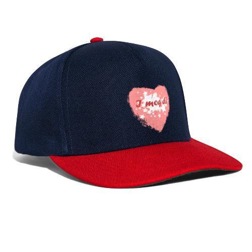 I mog di - Ich mag dich - Snapback Cap