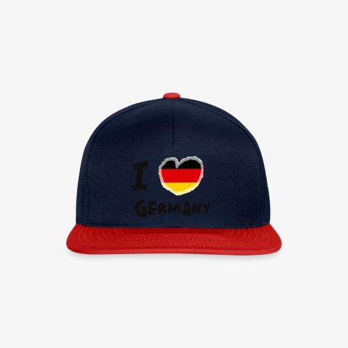 I Love Germany!!! - Snapback Cap