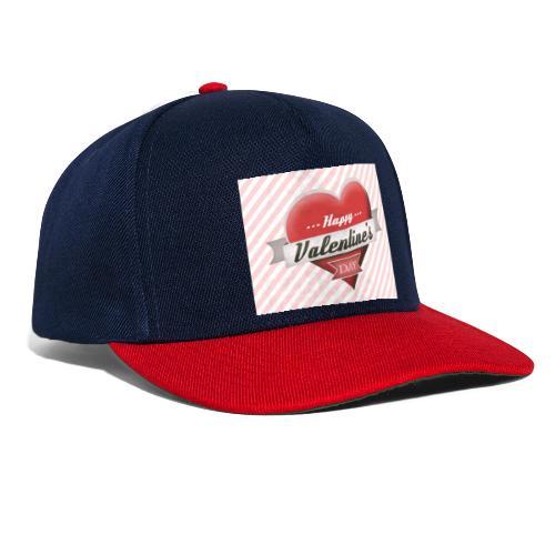 happy valentines day - Snapback Cap
