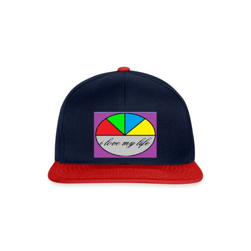 i love my life - Casquette snapback