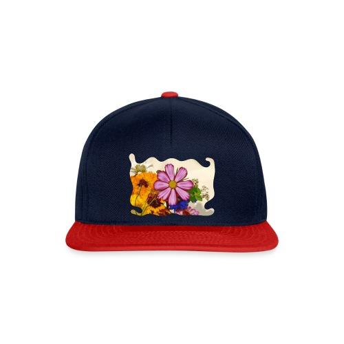 Pink flower - Snapback cap