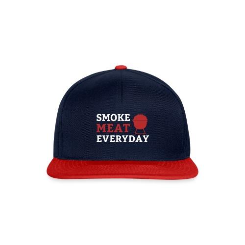 smoke meat everyday shirt - Snapback Cap