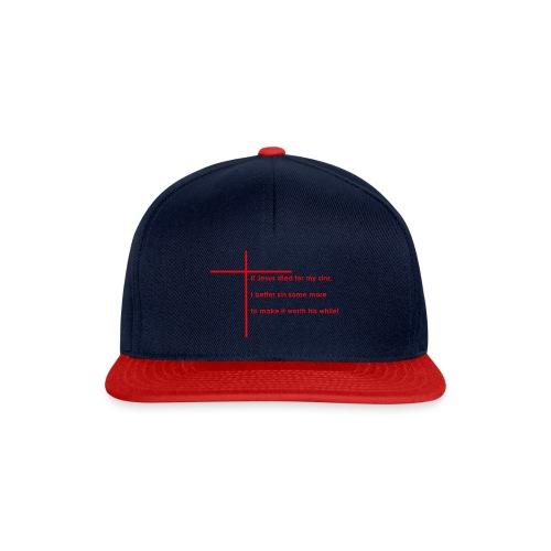 jesus red - Snapback Cap