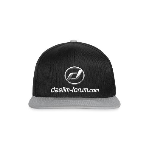 Daelim Logo und URL Taschen & Rucksäcke - Snapback Cap