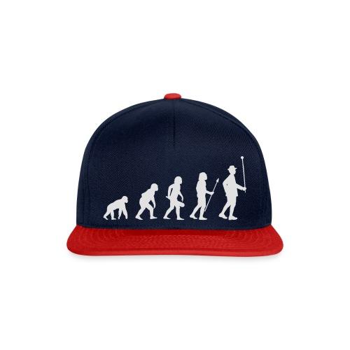 Evolution Stabführer weiß - Snapback Cap