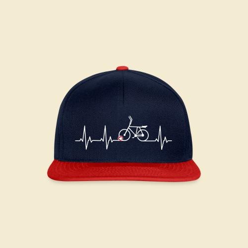 Radball | Heart Monitor White - Snapback Cap