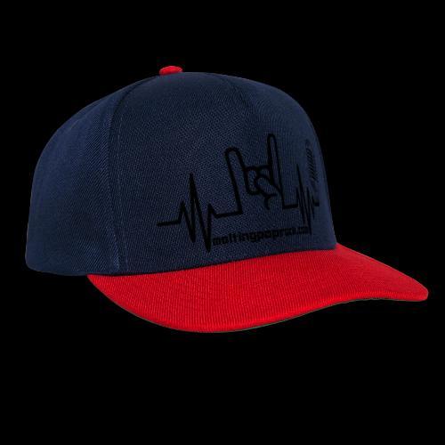 Logo + site noir - Casquette snapback