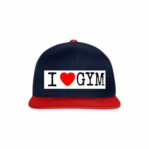 LOVE GYM - Snapback Cap