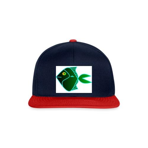 Green anglefish - Snapback cap