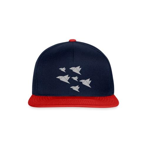 paper birdies 1 - Snapback Cap