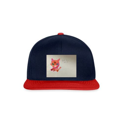 Little pet shop fox cat - Snapback Cap