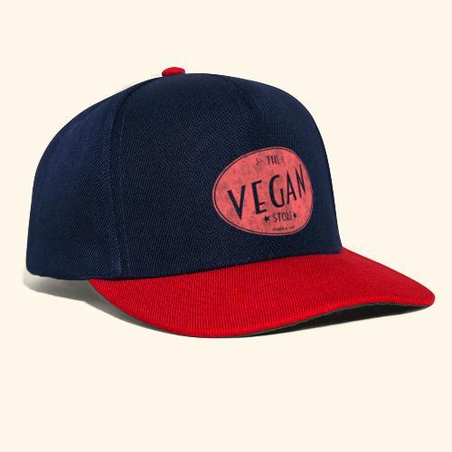 The Vegan Store - Vintage Store Logo design - Snapback Cap