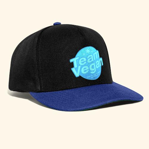 Team Vegan - Here to Save The World - Snapback Cap