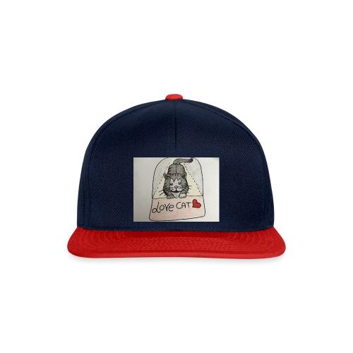 Love cat - Snapback Cap