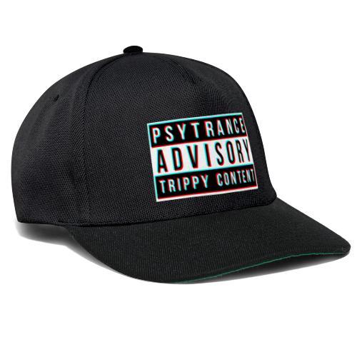 Psytrance - Snapback Cap