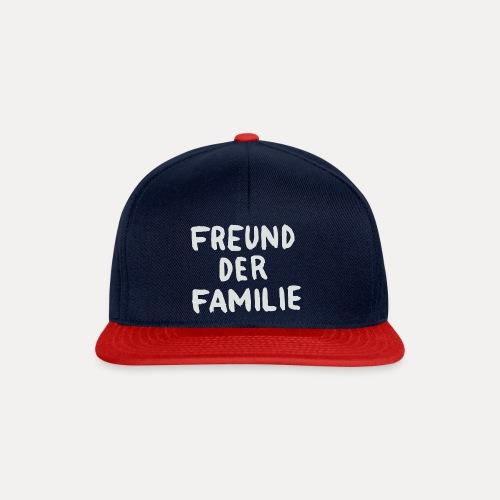 FDF LOGO WHITE - Snapback Cap