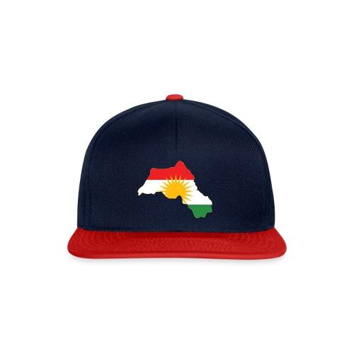 Kurdistan Flag Map - Snapback Cap