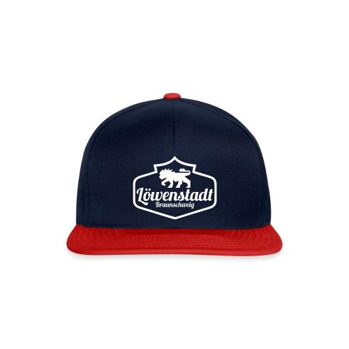 Löwenstadt Design 1 weiss - Snapback Cap