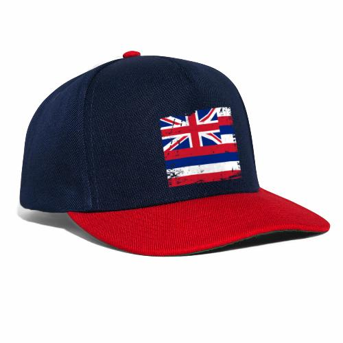Hawaii flag textiles, Gifts and products for you - Snapback Cap